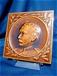 General Wolseley 1833-1913 Portrait Tile By Craven, Dunnill & Co.
