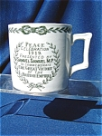 1919 World War I Peace Mug Given By Samuel Samuel M.p.