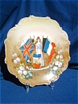 World War I French Limoges Plate.