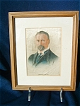 1916 General Smuts Silk Godfrey Phillips Cigarette Panel Framed .