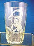 Wwii Glass Tumbler Of Field Marshall Montgomery.