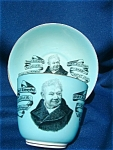 C.1884 Joseph Livesey Founder Of The Temperance Movement Cup & Saucer.