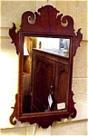 Small Chippendale Mahogany Mirror
