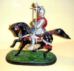 English Cast Iron Knight