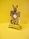 English Ornate Brass Watch Holder