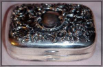 Victorian Silverplate Soap Dish