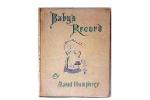 Maud Humphrey- Baby's Record
