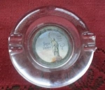 Statue Of Liberty Glass Ashtray