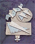 Artist Made Pin