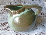 Prairie Green Ball Creamer