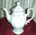Johann Haviland Blue Garland Coffee Pot