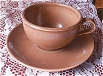Russel Wright Iroquois Casual Cup & Saucer