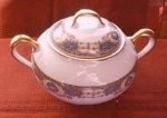 Jean Boyer Limoges Sugar Bowl With Lid