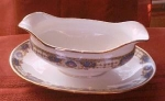Jean Boyer Limoges Gravy Boat With Underplate