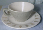 Metlox Pepper Tree Cup And Saucer