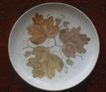 Metlox Woodland Gold Salad Plate