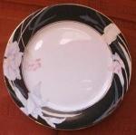Mikasa Charisma Black L9050 Salad Plate