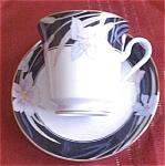 Mikasa Charisma Black Cup & Saucer