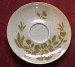 Red Wing Damask Saucer