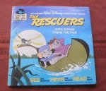 Disney's The Rescuers Book And Record