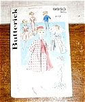 Butterick 9993 11 ½ Inch Doll