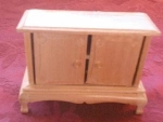 Wooden Doll House Chest