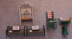 Acme Doll House Garden Set