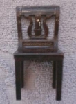 Plasco Dollhouse Harp Back Chair