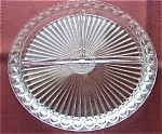 Vintage Glass Divided Relish Tray