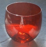 Anchor Hocking Royal Ruby Red Cocktail Glass