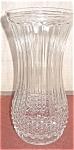 Hoosier Glass Diamond Point Vase