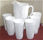 Indiana Harvest Pitcher And Tumbler Set