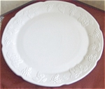 "Large Indiana Harvest 14"" Round Platter"
