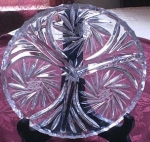 Pinwheel Design 3 Part Relish Or Candy Dish