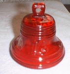 Viking Ruby Red Liberty Bell