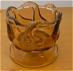 Glass Six Geese Candle Holders
