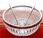 Italian Silver Plated Salad Serving Set