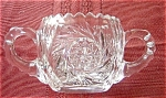 Eapg Pinwheel Glass Sugar Bowl