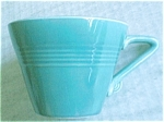 Homer Laughlin Harlequin Turquoise Cup