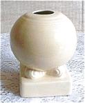 Vintage Fiesta Ivory Bulb Candle Holder