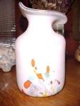 Poschinger Frauenau Glashutte Mouthblown Vase