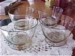 4 Vintage Champagne Kosta Holmegaard Sherbets