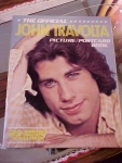 1978 Licensed John Travolta Postcard Book
