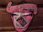 Licensed 1983 Rolling Stones Key Chain