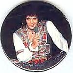 1978 Elvis Presley Memorial Pinback