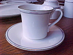 Royal Doulton Cup And Saucer - Simplicity