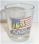 Usa Xxvi Olympiad Shot Glass