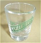 Dr. Mcgilliduddy`s Menthol Mint Schnapps Shot Glass