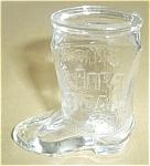 Jeam Beam Tall Boy Boot Shot Glass