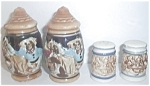 Old Japan Stein / Mug Salt & Pepper Shakers